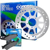 DISCO DE FREIO DIANTEIRO HONDA BROS 150 TODAS COBREQ