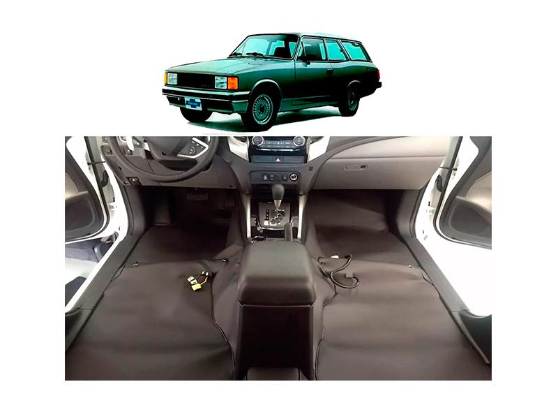 tapete Super Luxo Automotivo Assoalho Caravan 1976 a 1999