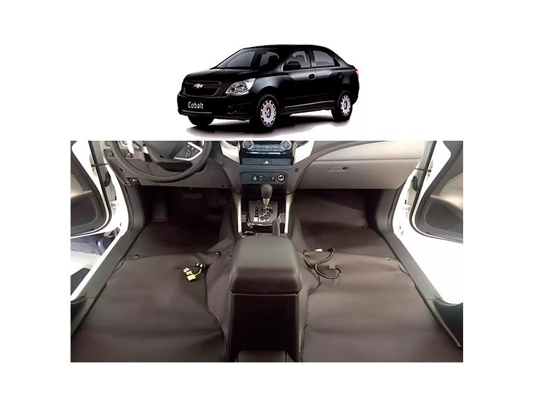 tapete Super Luxo Automotivo Assoalho chevrolet Cobalt prisma novo
