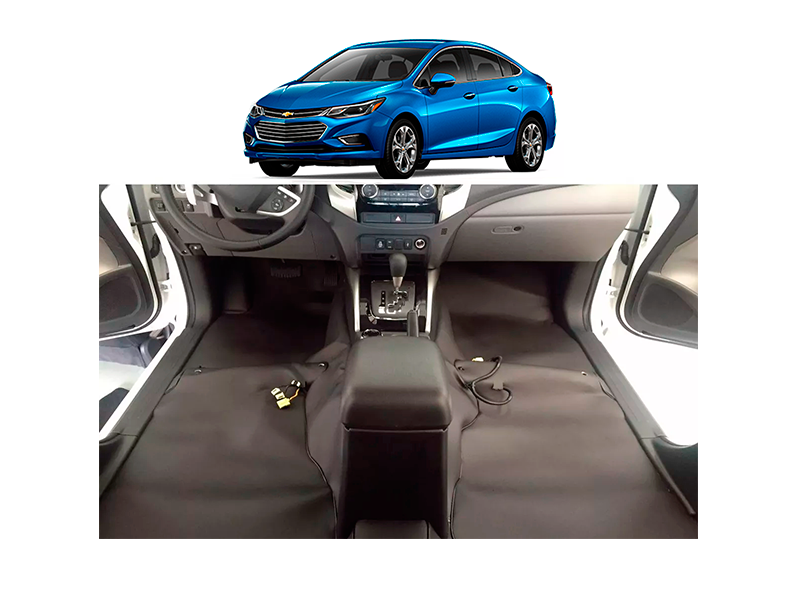 tapete Super Luxo Automotivo Assoalho chevrolet Cruze 2017/2020