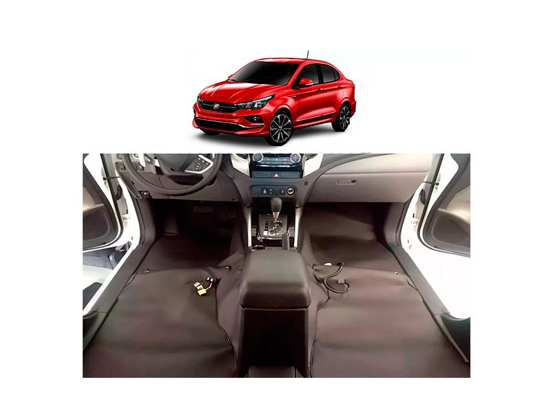 Forro Super Luxo Automotivo Assoalho Para Fiat Cronos Todos