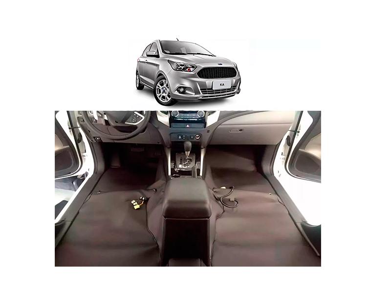 Forro Super Luxo Automotivo Assoalho Para Ford Ká Novo