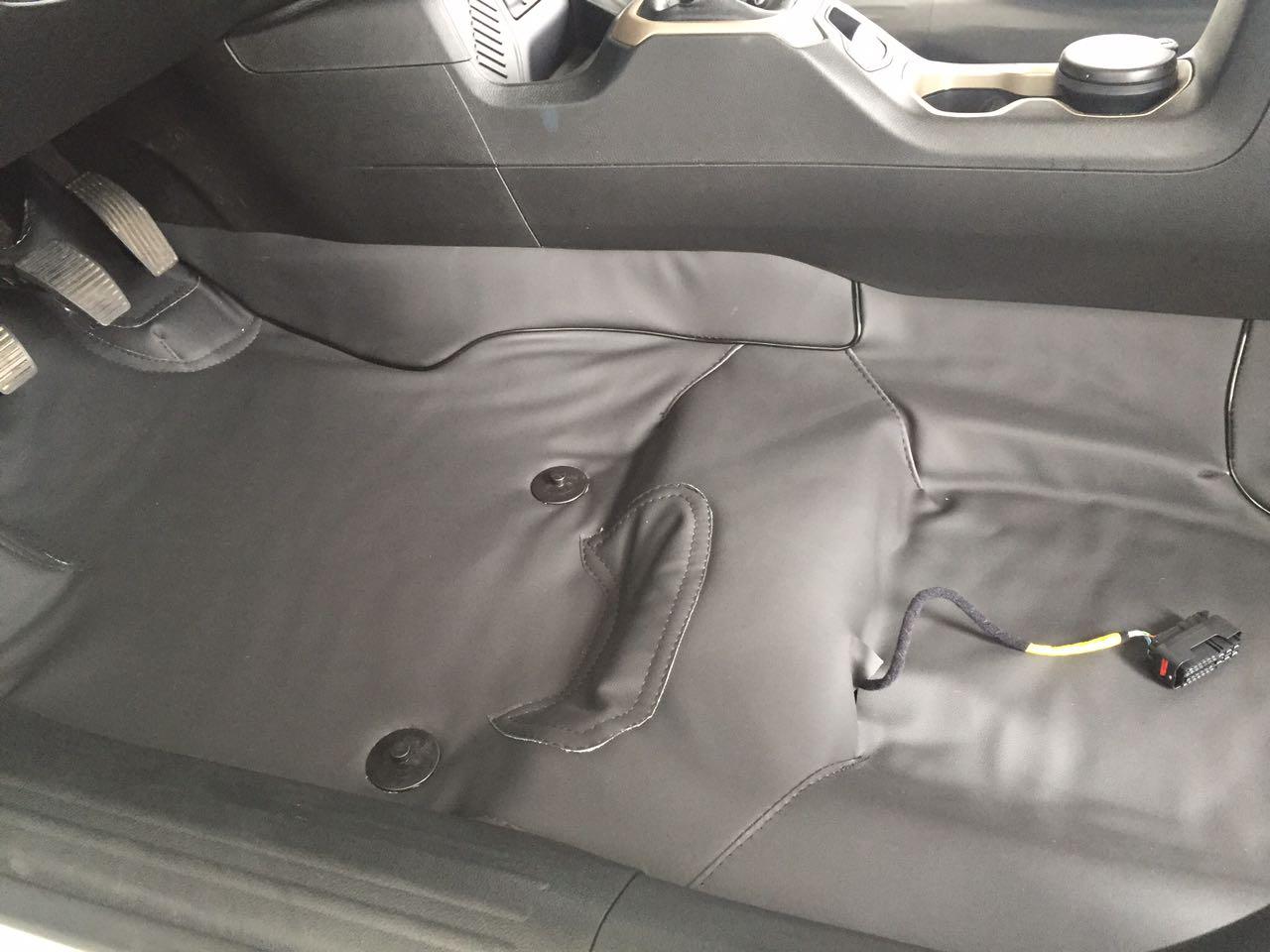 Forro Super Luxo Automotivo Assoalho Para VW GOL BOLA 2 PORTAS GRAFITE