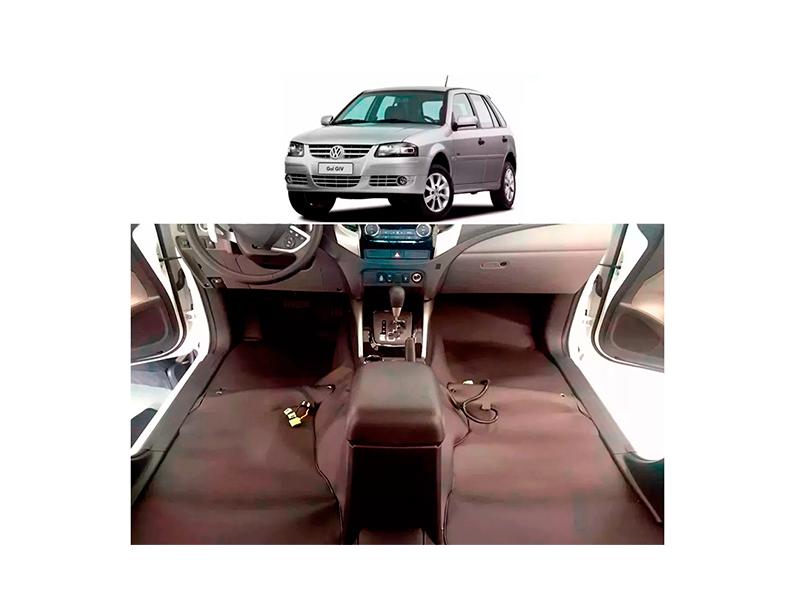 Forro Super Luxo Automotivo Assoalho Para Gol G4