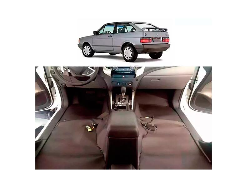 Forro Super Luxo Automotivo Assoalho Para Gol Quadrado