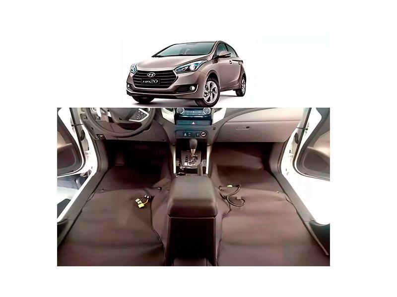 Forro Super Luxo Automotivo Assoalho Para Hb20 Todos
