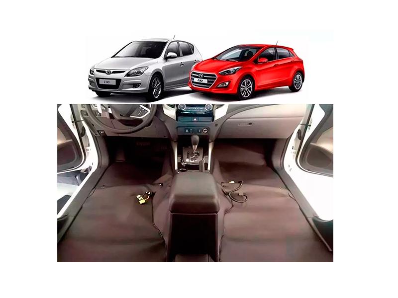 Forro Super Luxo Automotivo Assoalho Para I30 2009 a 2017