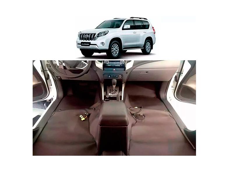 Forro Super Luxo Automotivo Assoalho Para Land Cruiser Prado 2003 a 2009