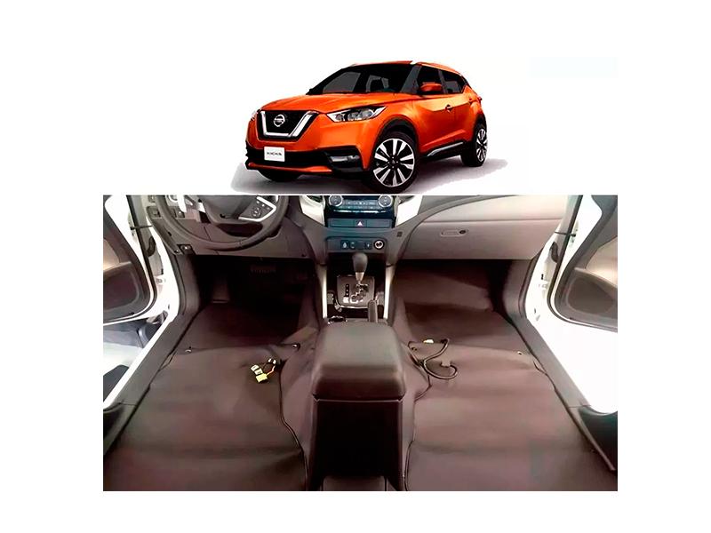 Forro Super Luxo Automotivo Assoalho Para Nissan Kicks 2016 a 2018