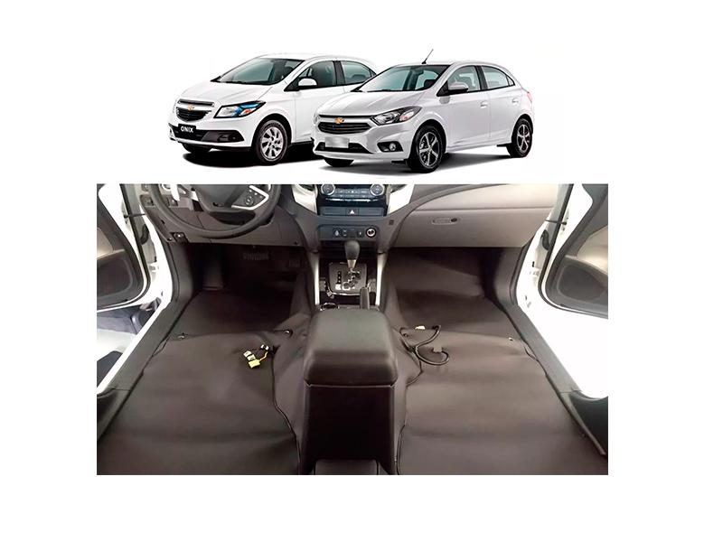 Forro Super Luxo Automotivo Assoalho Para Onix Prisma