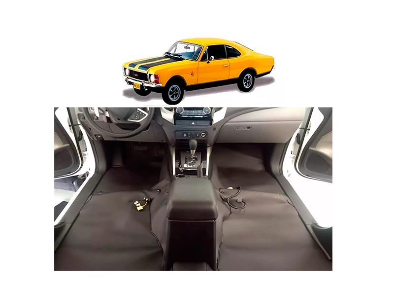 Forro Super Luxo Automotivo Assoalho Para Opala Todos