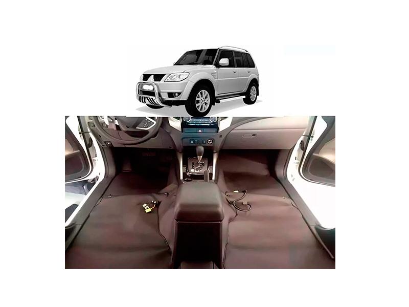 Forro Super Luxo Automotivo Assoalho Para Pajero Tr4 2003 a 2014