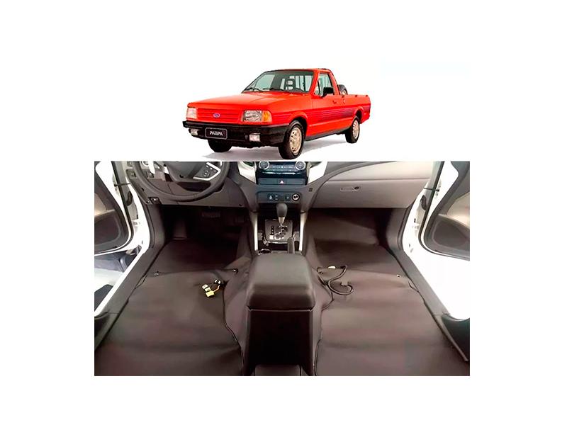 Forro Super Luxo Automotivo Assoalho Para Pampa Todos