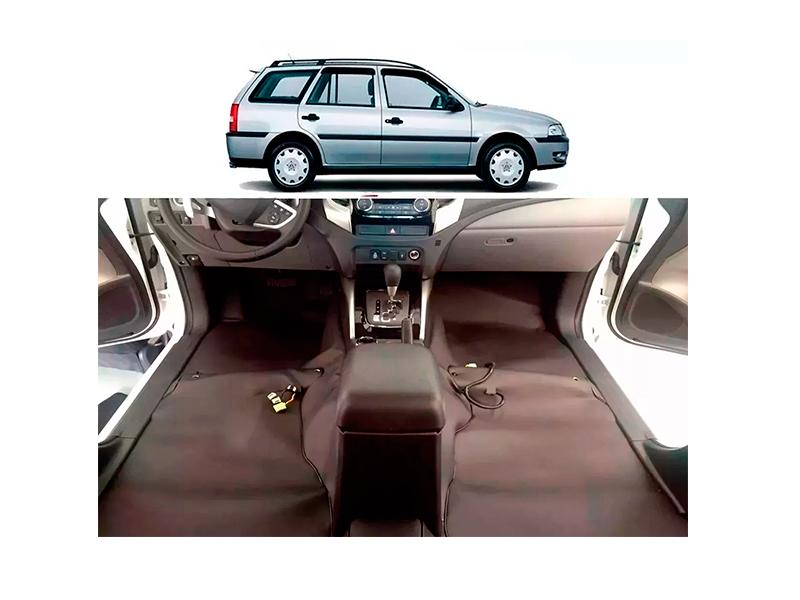 Forro Super Luxo Automotivo Assoalho Para Parati G3