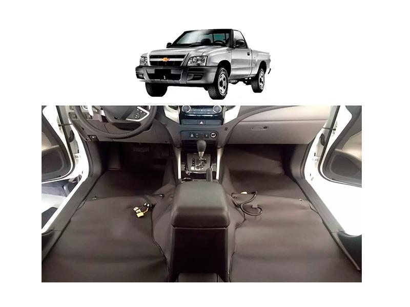 Forro Super Luxo Automotivo Assoalho Para S10 Simples até 2011