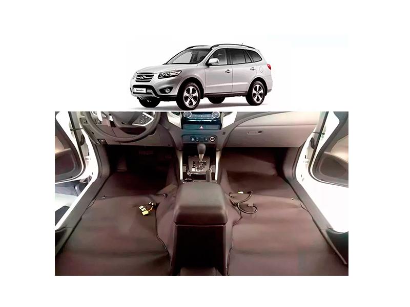 Forro Super Luxo Automotivo Assoalho Para Santa Fé 2007 a 2012