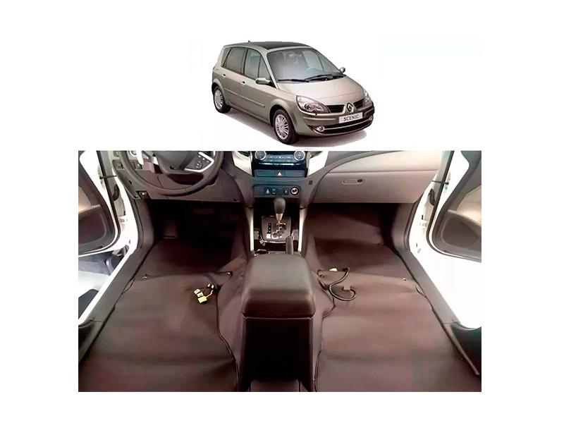 Forro Super Luxo Automotivo Assoalho Para Scenic até 2008
