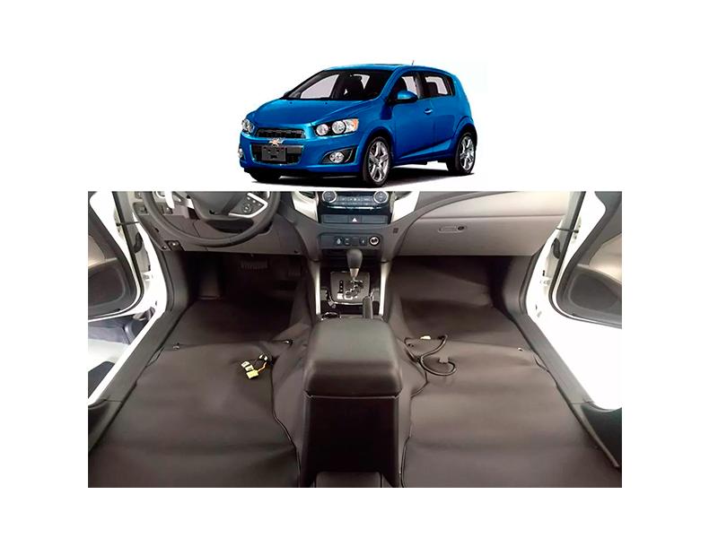 Forro Super Luxo Automotivo Assoalho Para Sonic Todos