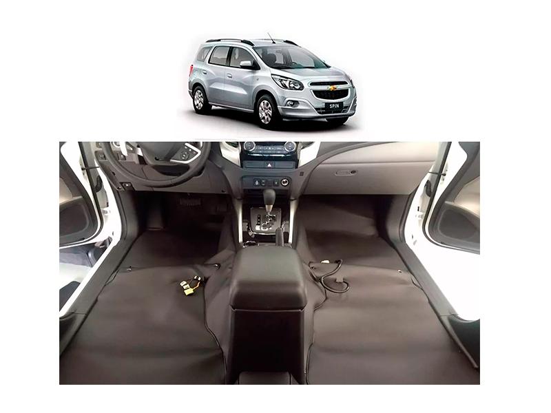 Forro Super Luxo Automotivo Assoalho Para Spin Todos