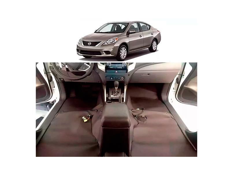 Forro Super Luxo Automotivo Assoalho Para Versa 2012 a 2018