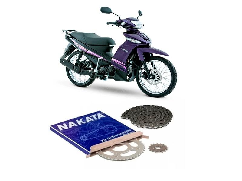 Kit Relação Nakata Yamaha Crypton 115 Nova