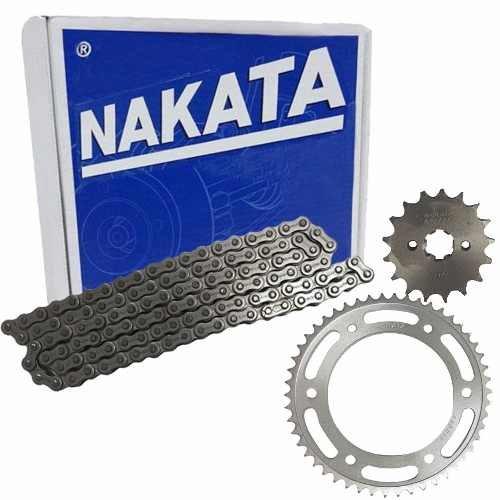 Kit Relação Tração Transmissão honda Nxr Bros 150 Nakata