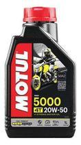 OLEO MOTUL 5000 20W50 SEMISSINTETICO 4T HC-TECH