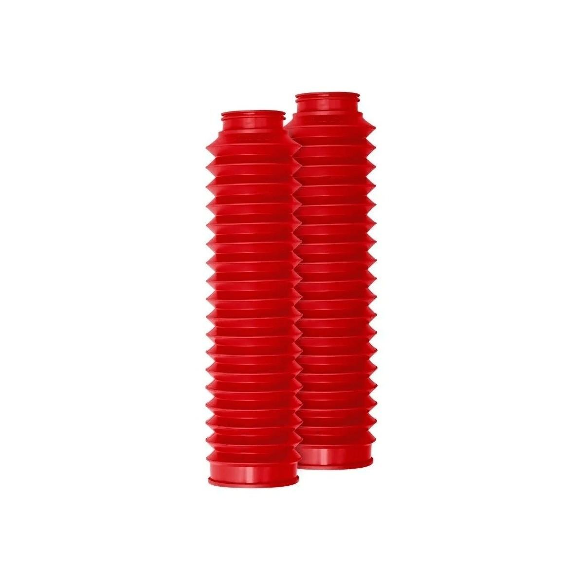 Sanfona Bengala 24 Dentes Vermelha Nx 200/xr200/xlx/sahara Vermelho