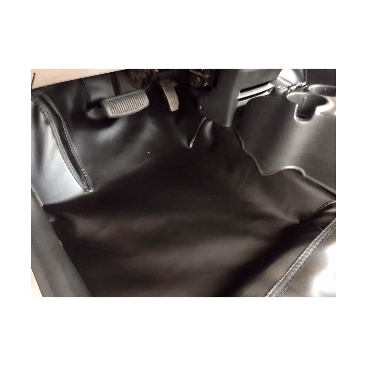 Tapete Automotivo Assoalho Emborrachado Bidim Chevrolet A20 D20 Simples