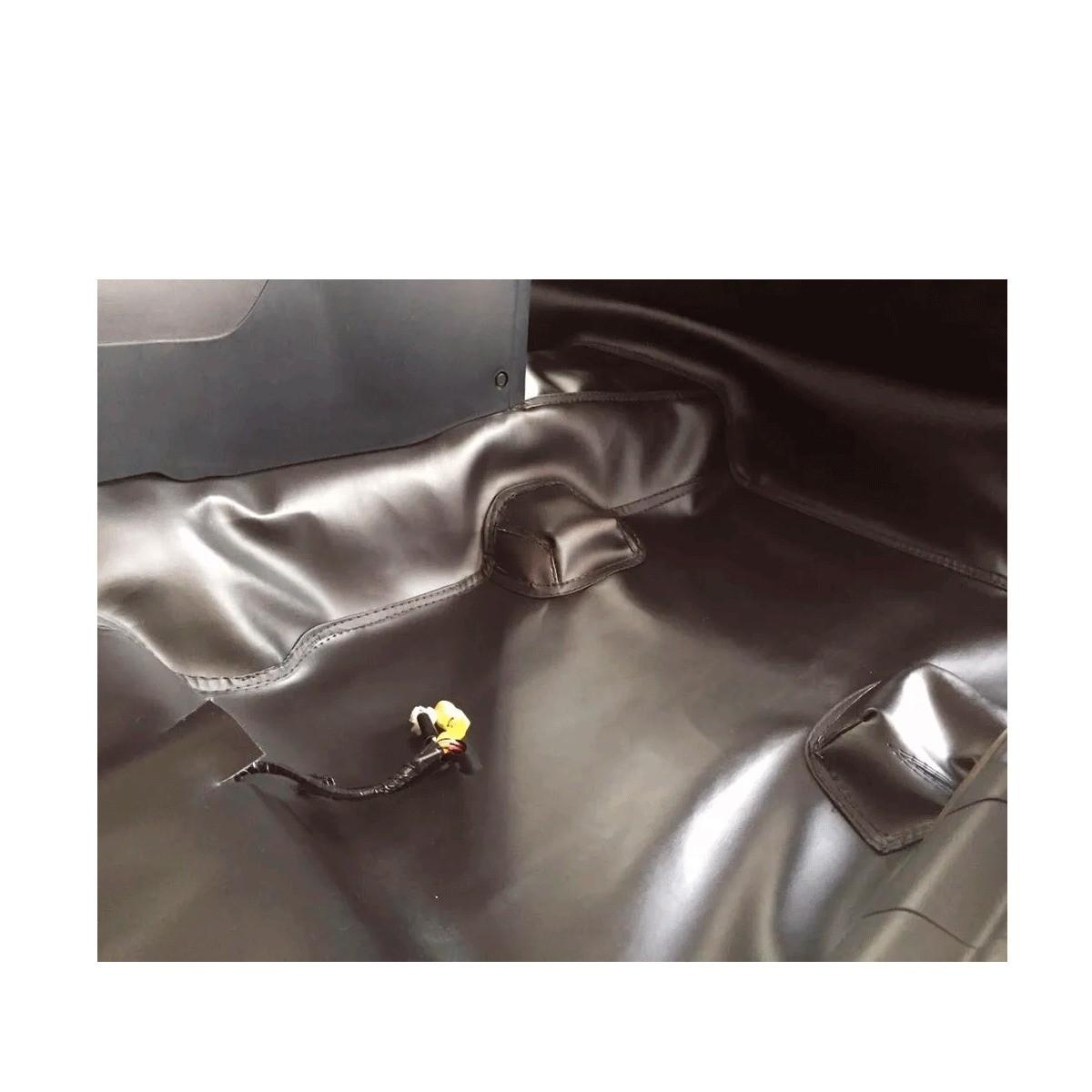 Tapete Automotivo Assoalho Emborrachado Bidim Chevrolet S10 Dupla 2012 a 2020