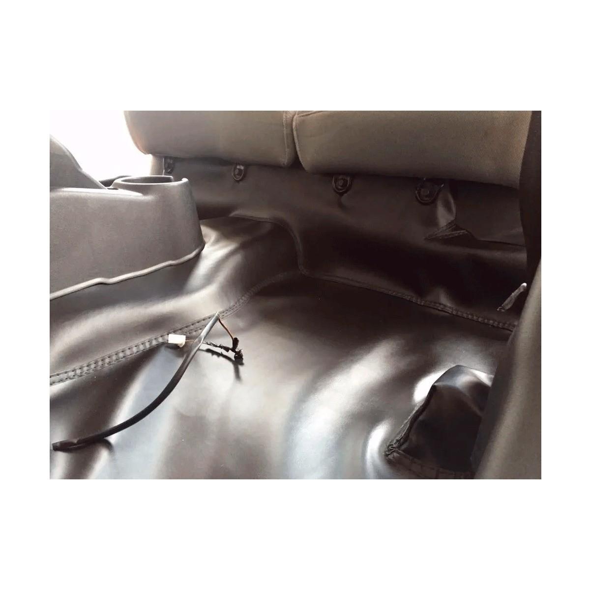 Tapete Automotivo Assoalho Emborrachado Bidim Fiat Strada Simples 2004 a 2011