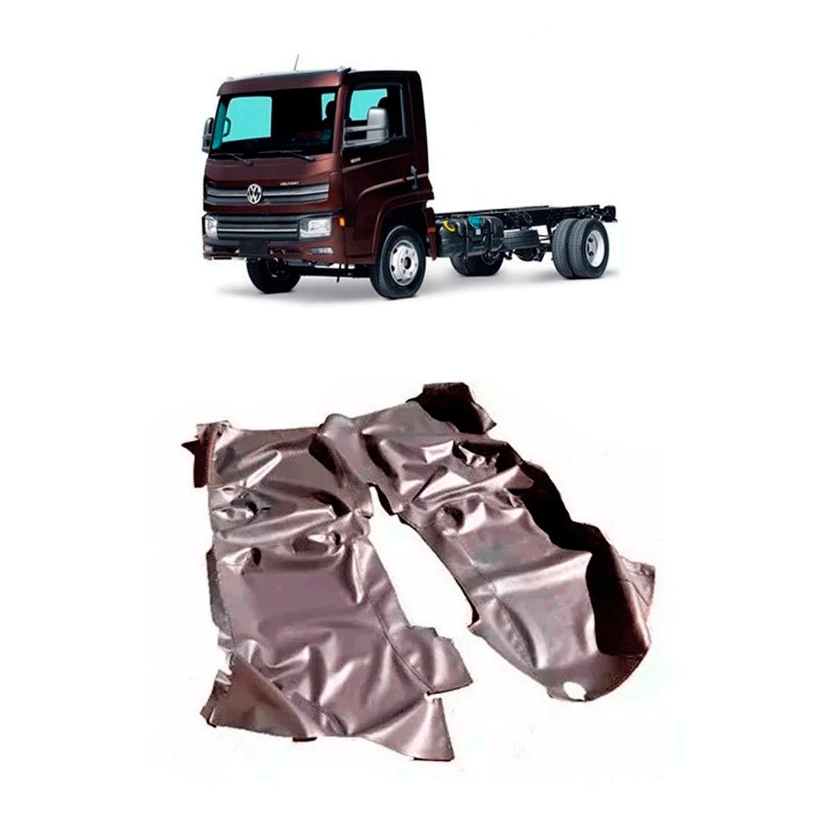 Tapete Automotivo Para Caminhão Volkswagen Delivery 9.170/ 11.180 2017-2020 Preto