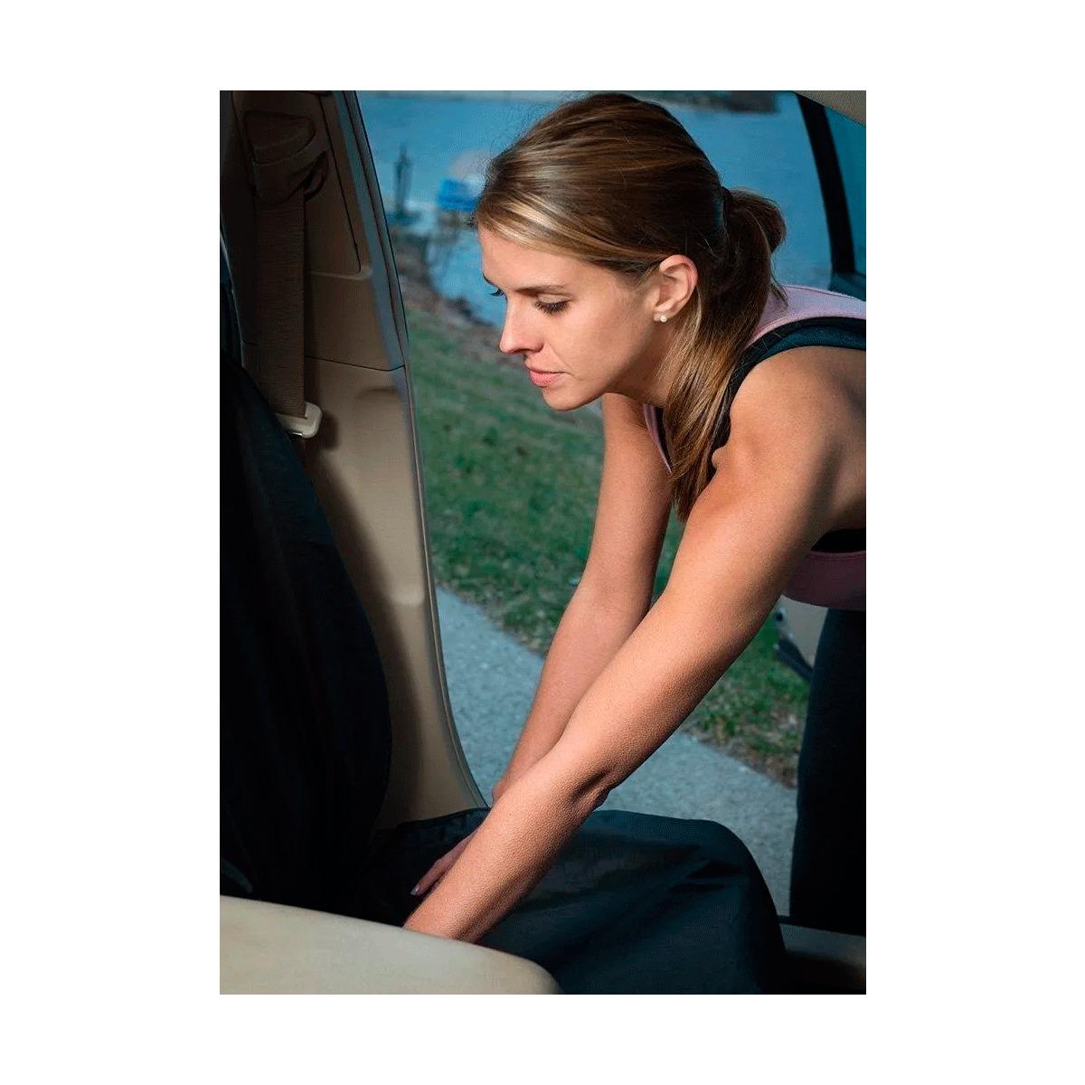 Tapete Em Vinil Volkswagen Saveiro G6 Simples + Capa Banco Protecao Banco Areia Suor Academia