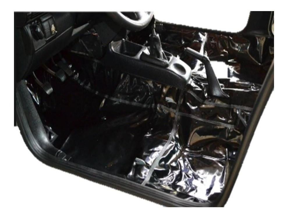 Tapete Proteção Assoalho da Ford Escort em Vinil Verniz Impermeável