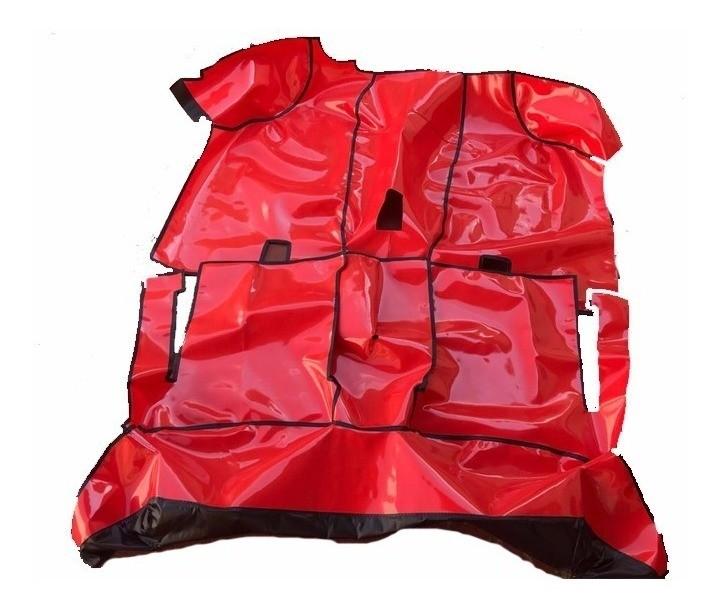 Tapete Proteção Assoalho da Ford Ranger Simples até 2011 em Vinil Verniz Impermeável