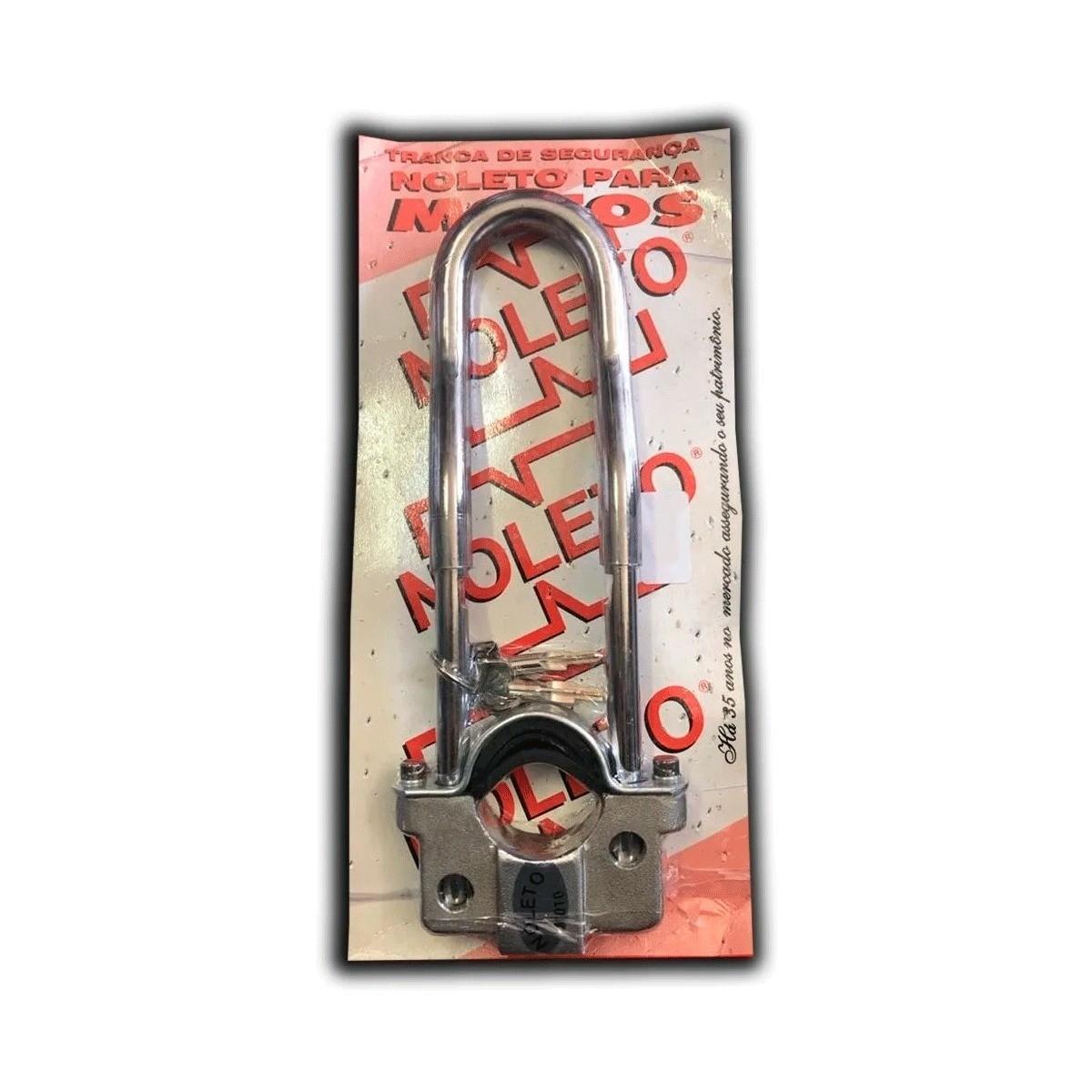 Tranca Trava Segurança Anti Furto Moto honda Titan125/ Fan125/ Ybr 125 cg 125 ate 99