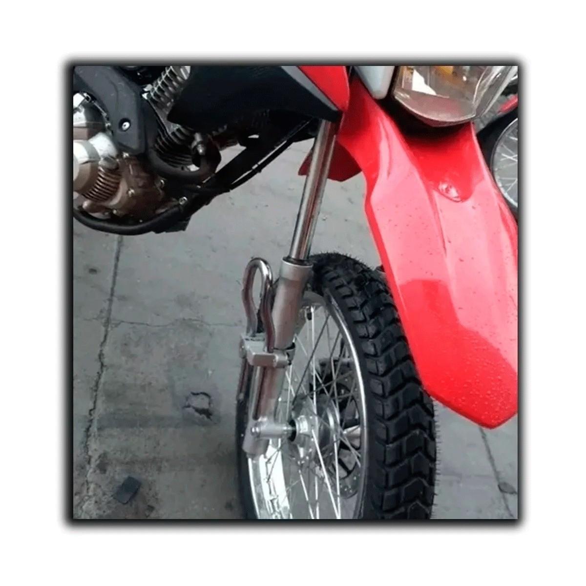Trava De Bengala Para Moto honda Titan 150/160 Fan 150/160 Bros 150/160 anti furto