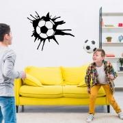 Adesivo Bola de Futebol Decoração Quarto Menino