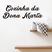 Adesivo de Parede Cozinha Dia das Mães Personalizado
