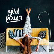 Adesivo de Parede Frase Girl Power