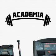 Adesivo de Parede Logo Academia Fitness