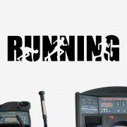 Adesivo de Parede Running Academia Crossfit