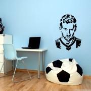 Adesivo de Parede Silhueta Messi