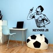 Adesivo de Parede Silhueta Neymar Jr