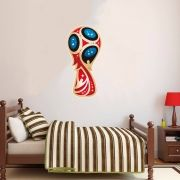 Adesivo de Parede Taça da Copa do Mundo 2018