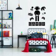 Adesivo Decorativo de Parede Gamer