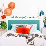 Adesivo Decorativo Frase Nada é Tão Nosso Quanto Nossos Sonhos