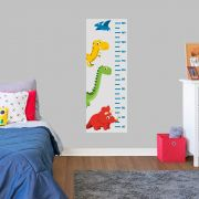 Adesivo Decorativo Régua de Crescimento Dinossauros