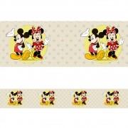 Faixa Border Adesivo Mickey e Minnie