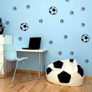 Kit de Adesivos Bolas de Futebol